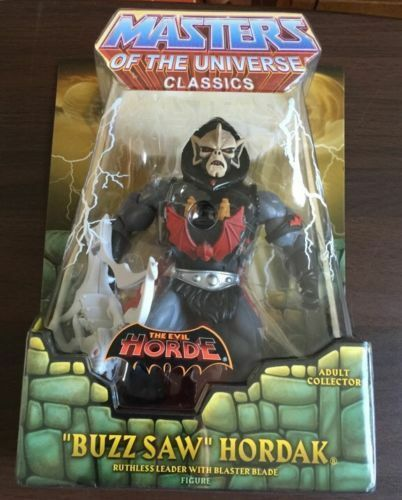 BUZZSAW HORDAK  HE-MAN MASTERS OF THE UNIVERSE MOTU CLUB ETERNIA EXCL. FIGURE