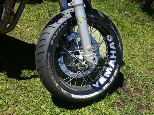 YAMAHA MOTORCYCLE INNER RIM STRIPE WHEEL DECALS TAPE STICKERS KIT R1 R6 R3 FAZER