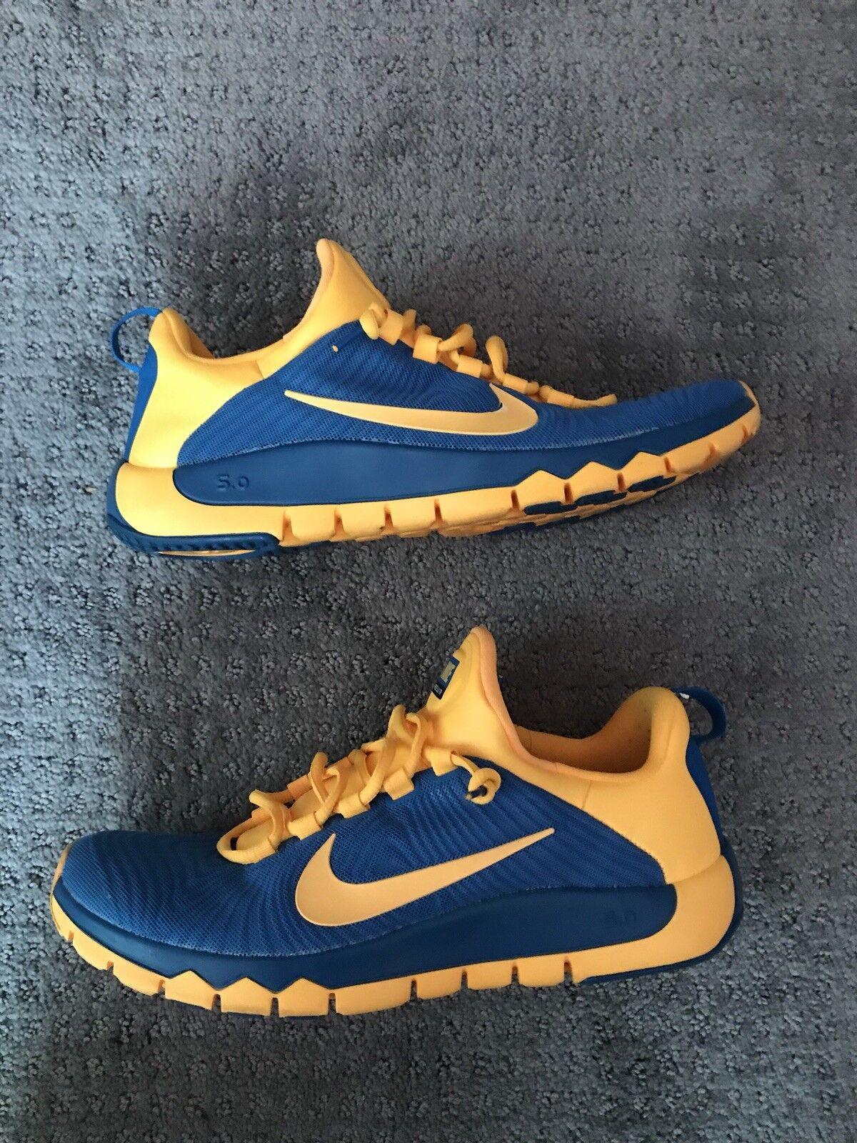 Nike Free Run 4.0 Blue Orange Size 10.5