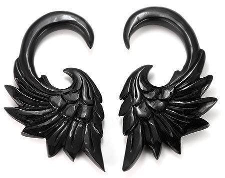 00g Price Per 1 HAWKNESS # 2 Wholesale Horn Hanger Organic Body Jewelry 12g