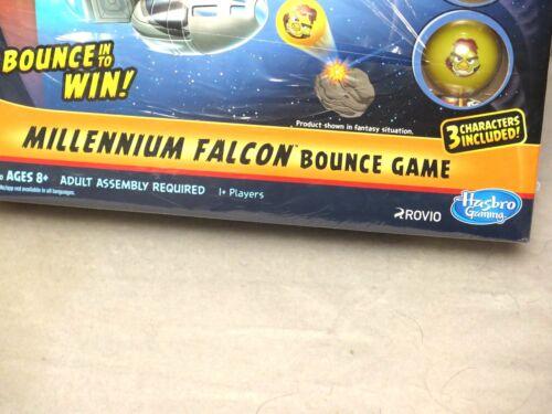 Hasbro Angry Bird Star Wars Millennium Falcon Bounce Game Chewbacca Han Luke NEW