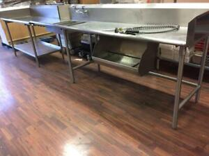 Commercial  Stainless Steel Clean Dishwasher Sides/Tables Toronto (GTA) Preview