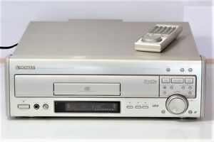 Pioneer-CLD-07G-laser-disc-player-LD-player-with-remote-control
