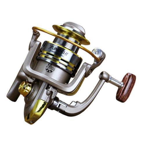 12BB Ball Bearing Spinning Fishing Reel 5.5:1 Fresh Salt Water Left Right Metal