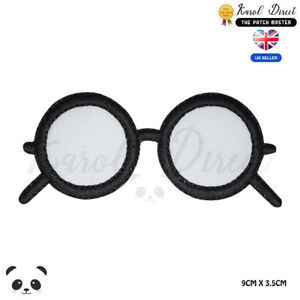 Harry-Potter-Glasses-Embroidered-Iron-On-Sew-On-Patch-Badge-For-Clothes-etc