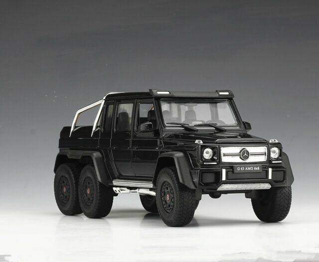 13,5 cm Neuware von WELLY Mercedes-Benz G-Klasse G63 AMG 6x6 schwarz ca