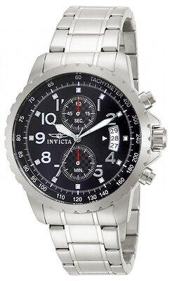 Invicta Men's Specialty Chronograph Analog Quartz Stainless Steel Watch 13783