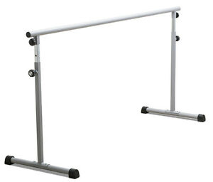 Portable-Gris-2-0m-Largo-Fitness-practica-Danza-Ballet-BARRE-BB01-de-Katz