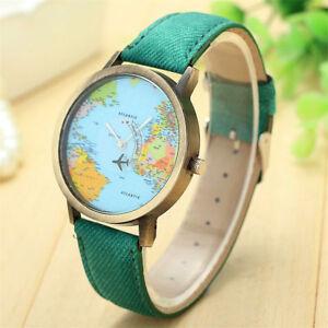 Armbanduhr Mit Weltkarte Ebay