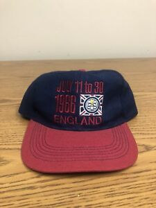 a9f5e784ab54d Details about RARE VIntage Adidas England Snapback 1966 World Cup Wool Cap  Hat Soccer 80s 90s