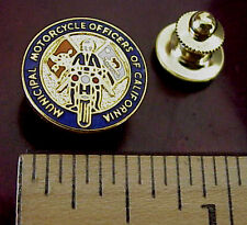 MUNICIPAL MOTORCYCLE POLICE OFFICERS OF CALIFORNIA MEMBER MINI PIN