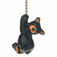Hanging Bear Fan or Light PullLodge Look by Bearfoots Toys