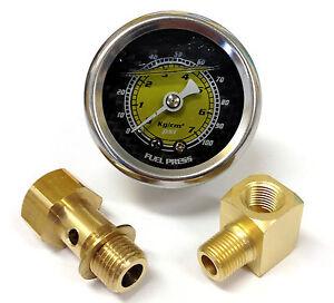 S L on Honda Civic Fuel Filter Pressure Gauge