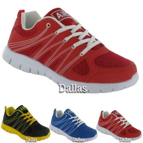 Air Tech Homme Homme Homme Baskets Course Gym Jogging Marche antichoc Chaussures de sport 37a9e0