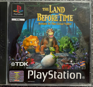 Land Before Time: volver al gran valle-PS1 (Playstation 1) completo PAL