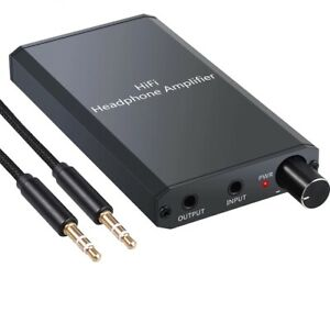 Headphone-Amplifier-Amp-Portable-DAC-Audio-Hifi-3-2-Stereo-5mm-Tube-USB-aufladen