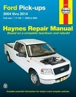 Ford F150 2004 - 2014 Haynes Brand 2wd 4wd Truck Shop Service Manual