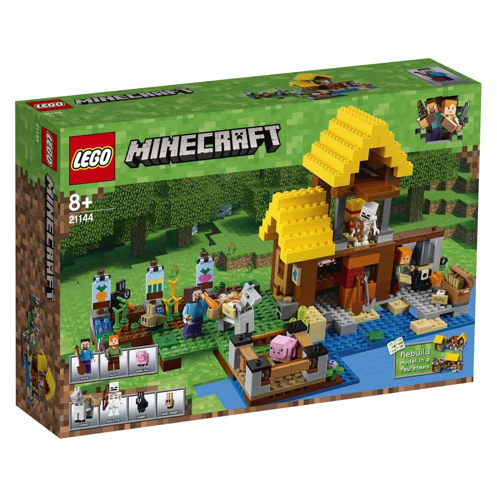 LEGO ® Minecraft ™ 21144 farmhäuschen Nouveau neuf dans sa boîte _ THE FARM Cottage NEW En parfait état, dans sa boîte scellée Boîte d'origine jamais ouverte