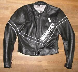 034-VANUCCI-034-Herren-Motorrad-Lederjacke-Biker-Jacke-in-schwarz-in-Gr-50