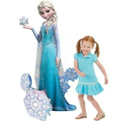"Disney Frozen Elsa Giant Gliding Birthday Party Mylar Foil Helium Balloon 57/"""