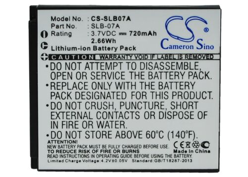 TL21 TL220 BATTERIA PREMIUM per SAMSUNG TL225 ST600 TL100 ST550 TL205 ST50
