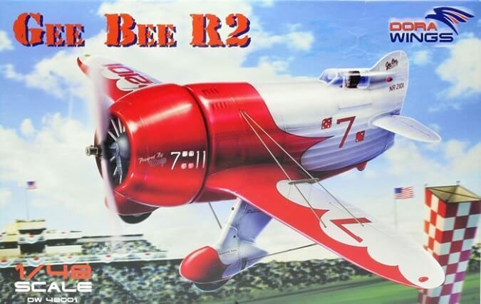Dora Wings 1 48 Gee Bee R2 Super Sportster Plastic Model Kit 48001 DWN48001