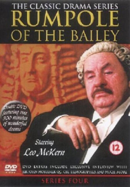 RUMPOLE OF BAILEY COMPLETE SERIES 4 DVD Fourth Season Leo McKern Marion New R2
