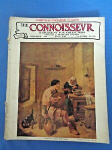 1929-THE-CONNOISSEUR-Magazine-William-Randolph-Hearst-Jamaican-Tortoiseshell-Art
