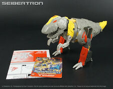 GRIMLOCK Transformers Energon complete Mega Class 2005 + instructions + card