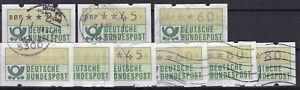 Brd-ATM-1981-gestempelt-Lot-1