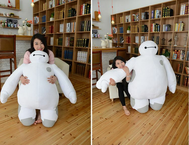 39   Giant Hung Big Hero 6 Baymax 100Cm Plush Robot Soft Stuffed Toys Doll Gift