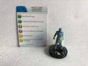 Frost-Giant-Champion-031-Avengers-Heroclix-Marvel-DC-Single-w-Card