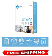 Hp Printer Paper Office 20 85 X 11 Copy Print Letter Size 1 Ream 500 Sheets