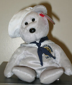 22937fea72a Ty Beanie Baby ~ RONNIE the Ronald Reagan Sailor Bear (8.5 Inch ...