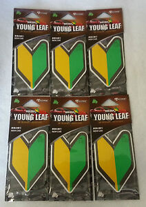 6 JDM Wakaba Treefrog Young Leaf Japanese Air Freshener ...