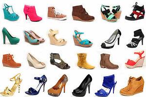 Wholesale-Women-039-s-Mix-amp-Match-Pump-Boots-Sandals-Sneaker-Wedge-Size-5-10-NEW