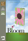 KJV Thinline Bloom Collection Bible by Zondervan (Leather / fine binding, 2011)