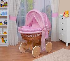 WALDIN Chariot enfants,couchette bébé XXL NEUF ! Rose
