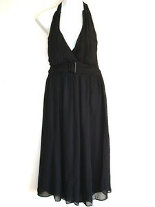 Polyester Halter Dress