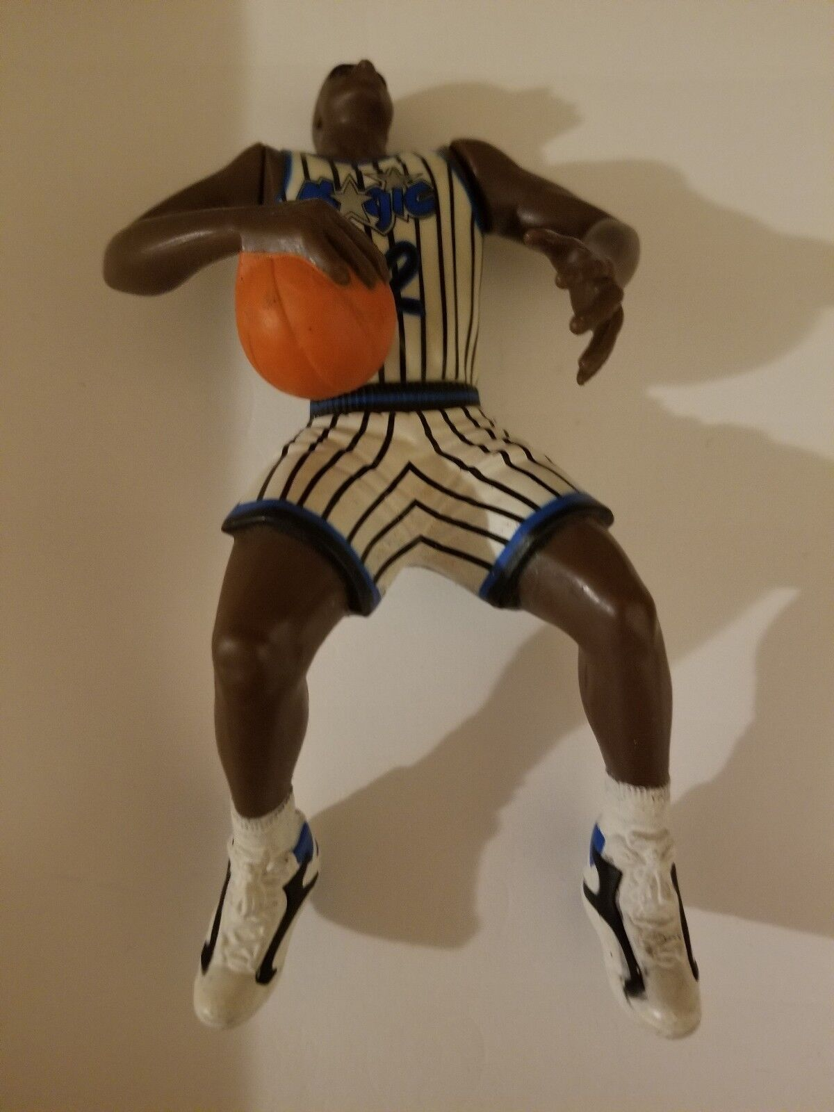 Shaquille o'neal action figure ..rookie shaq  32 Orlando magic..in shape shaq..
