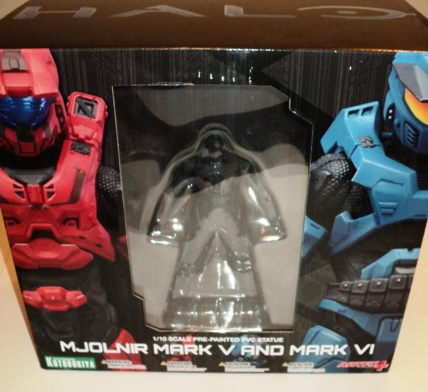 Halo Mjolnir Mark V & Mark VI 2pack cifras Kotobukiya ArtFX 1 10 Statues MISB