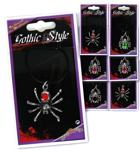 Halloween sortierte Designs Spinnen-Kette Schmuck Gothic Kette 124636113
