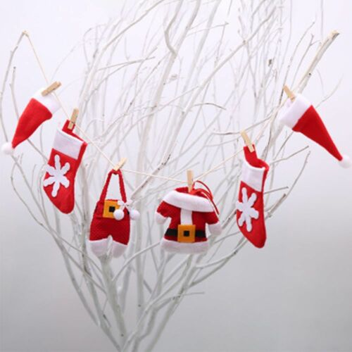 Small-scale Non-woven Household Party Christmas Decoration Banner Flags