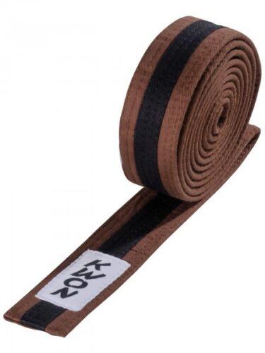 Budogürtel mehrfarbig Judo Gürtel Karate Gürtel Taekwondo Gürtel KWON Gr.200-320