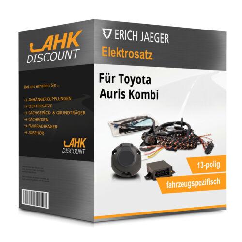 JAEGER Elektrosatz 13polig fahrzeugspezifisch Neuware Für Toyota Auris Kombi 13