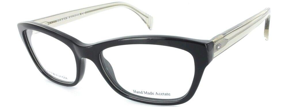 Brand New Tommy Hilfiger Authentic Women Eyewear Frame Th 1167 V78 Black Rx Case