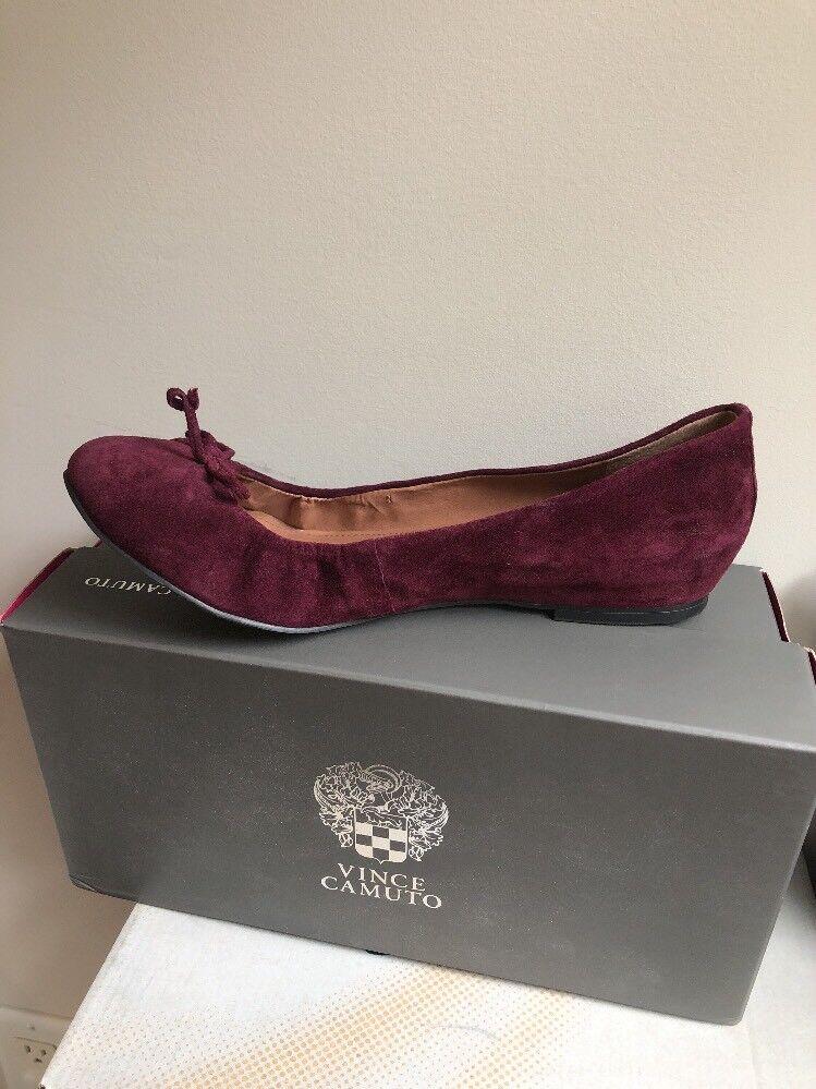 Nuevos Zapatos Vince Camuto Lassia Gamuza Granate Granate Granate 9.5 Medio Oscuro Granate Niño Gamuza  despacho de tienda