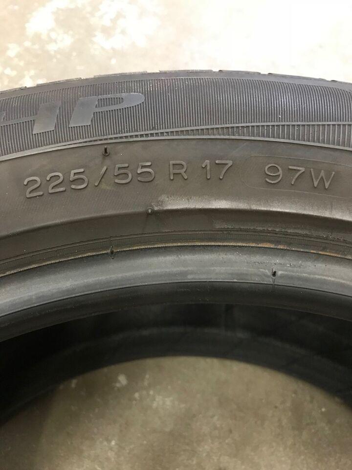 Sommerdæk, Michelin, 225 55 R17