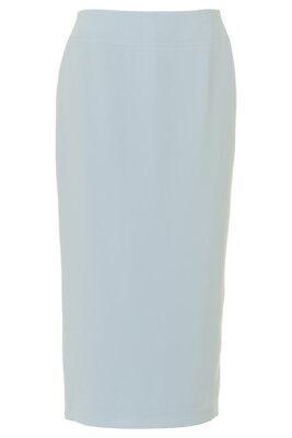 Busy Womens Light Blue Long Skirt