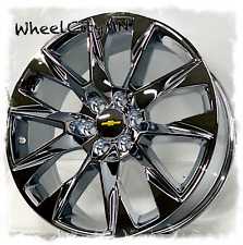 24 Chrome 2020 Chevy Silverado Tahoe Suburban Oe Replica Ltz Wheels 6x55 30